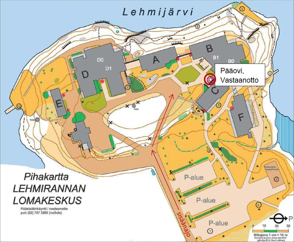 A map of Lehmiranta area